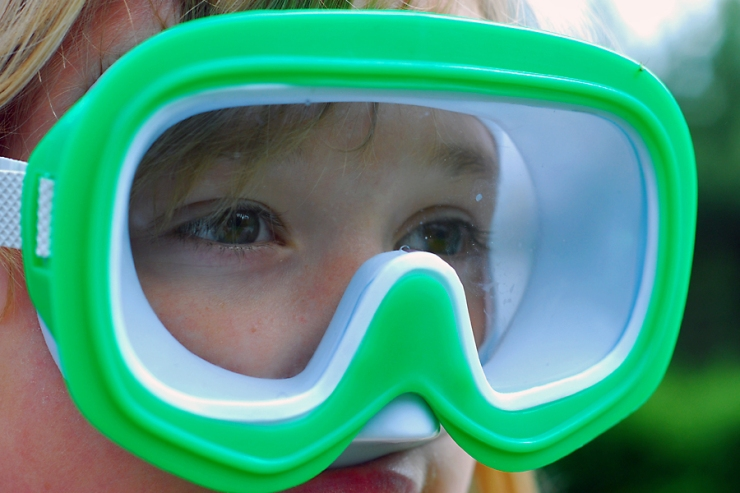Undervattensglasögon