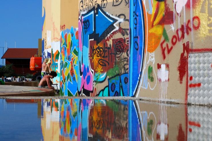 Graffitiprojekt Mariestad