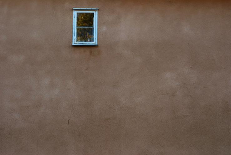 Ensamt fönster