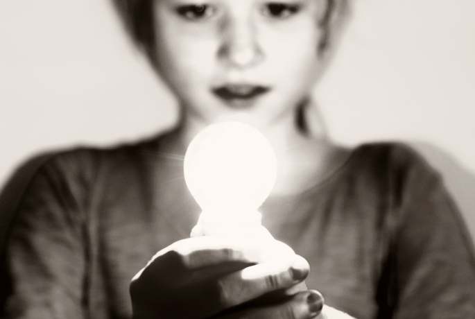 Det lilla ljus jag har