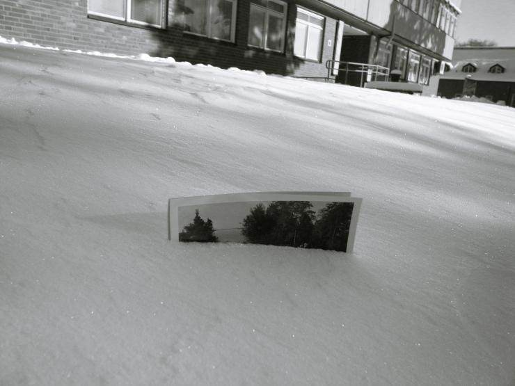 Vykort i snön
