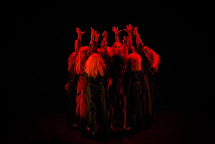 Kulturskolans dansuppvisning 2011