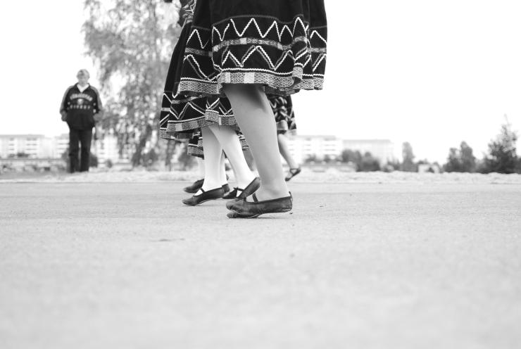 Dansare på rad