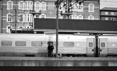 """Karlstad Järnvägsstation – """"Ses vi igen?"""""""