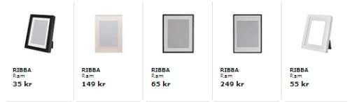 IKEA RIbba