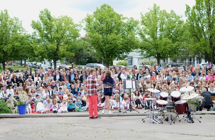 Skolavslutning Västerstrandsskolan 2012