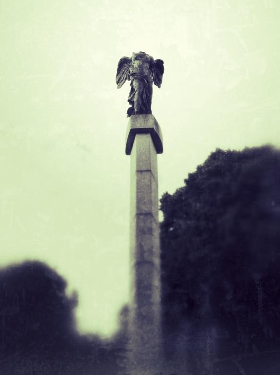 Nike från Samothrake i Rottneros skulpturpark
