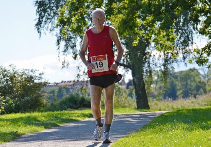Stig Söderström springer sin 710:e maraton