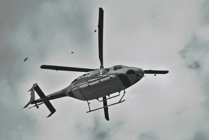 Helicopter lyfter