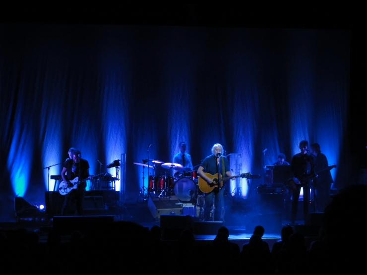 Ulf Lundell med band på scenen Karlstad CCC