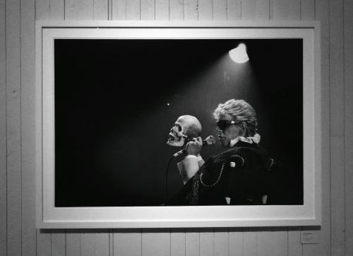 David Bowie foto av Mats Bäcker