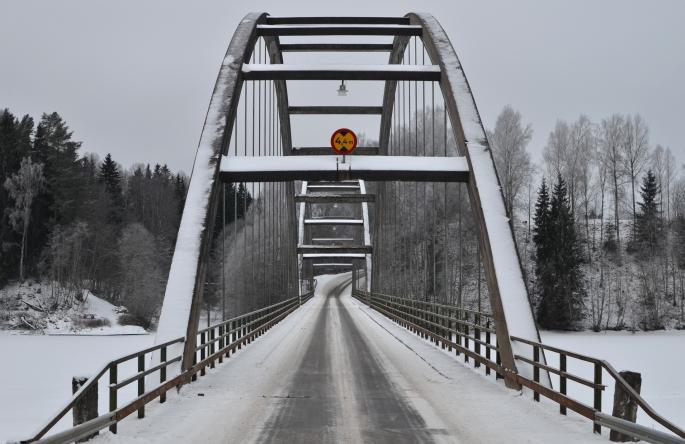Båbron i Ransäter