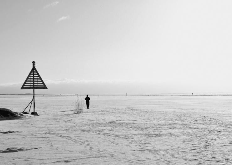 Ensam på isen