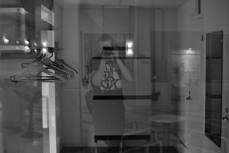 Transparent självporträtt