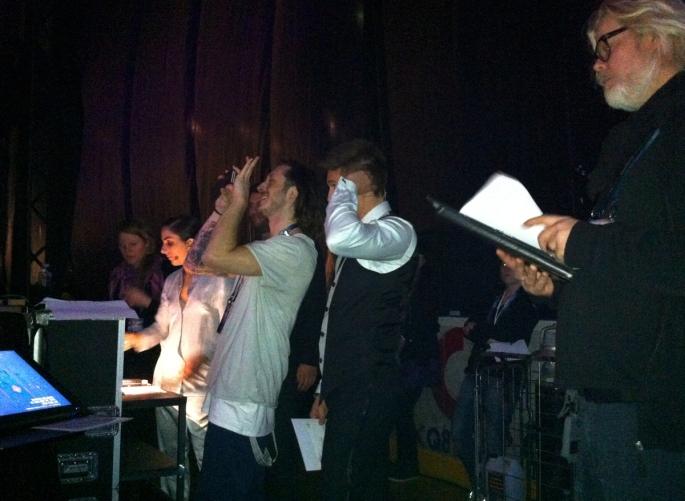 Backstage - Danny Saucedo, Gina Dirawi, Henric