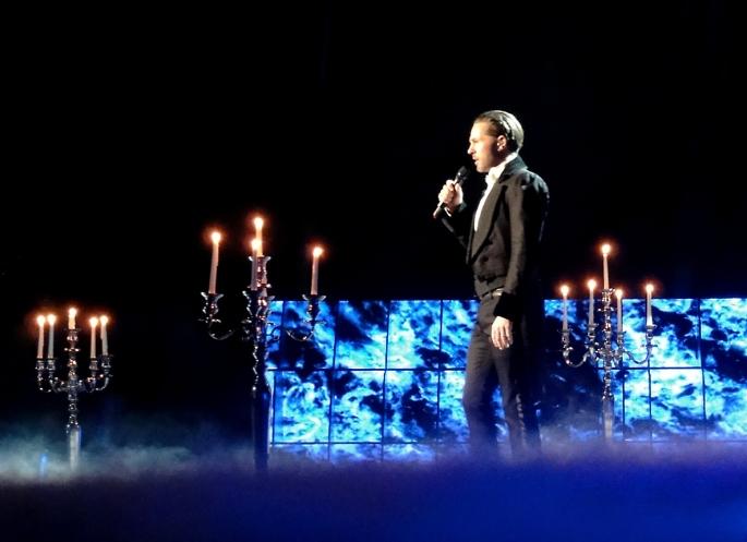"Peter Jöback ""The Phantom of the Opera"" Melodifestivalen 2013"