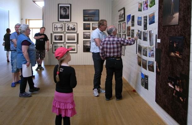 Besökare 100 lpm Foto