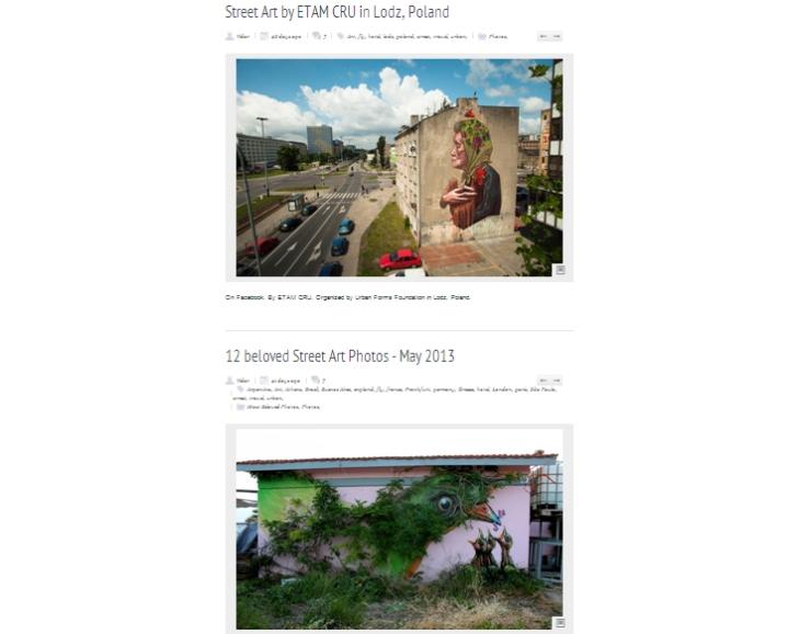 BlogStreetArtUtopia