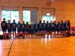 Line Up i gympasalen