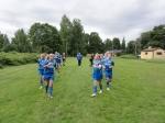 Matchvärmning inför kvartsfinalen i Örebrocupen
