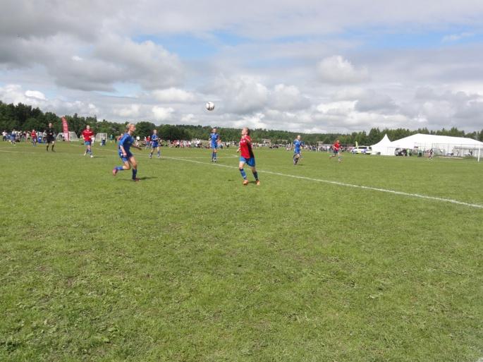 Match och semifinal Skoghall vs QBIK