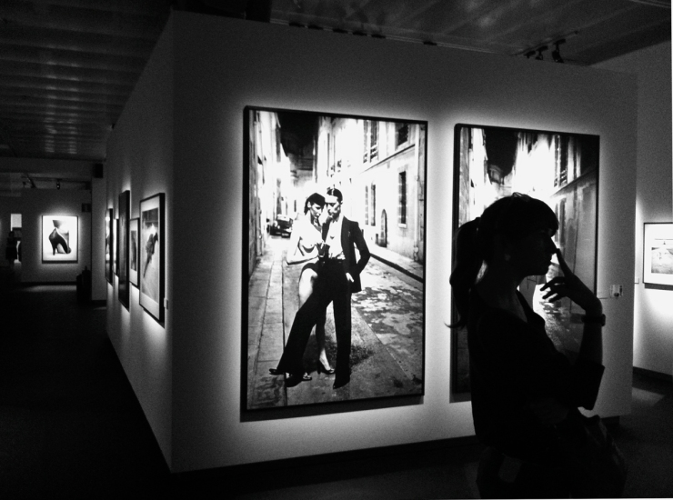 Helmut Newton på Fotografiska