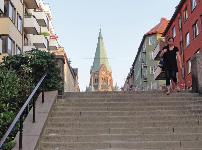 Sofia Kyrka i Vita Bergsparken