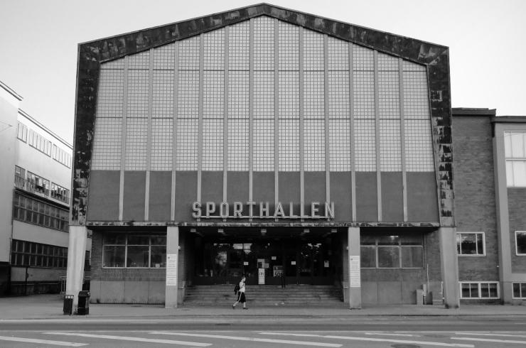 Sporthallen i Eskilstuna