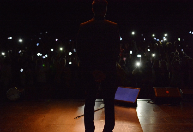 I strålkastarnas ljus
