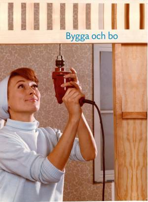 """Bokomslag Nordiska Museet """"Bygga och Bo"""""""