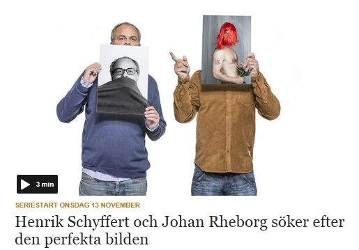 """""""Alla Är Fotografer"""" på svt.se"""