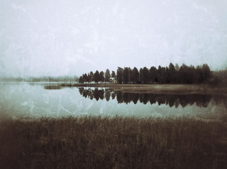 Villa Solhäll vid sjön Alstern i Värmland