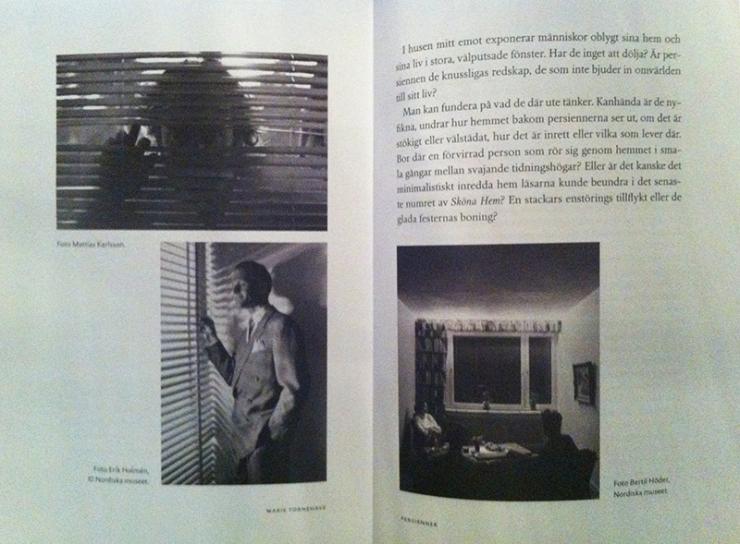 """""""Bygga och bo"""" - Persienner Nordiska Museets årsbok"""