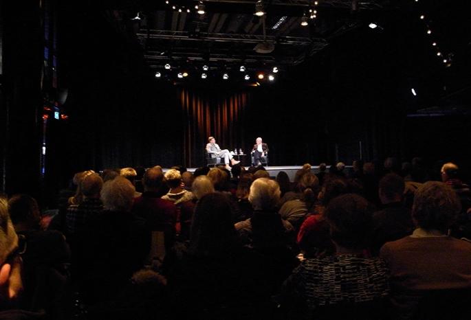 PC Jersild och Björn af Kleef på Kulturhuset