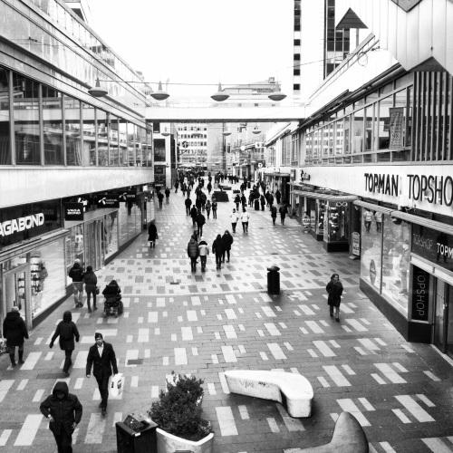Sergelgatan i Stockholm