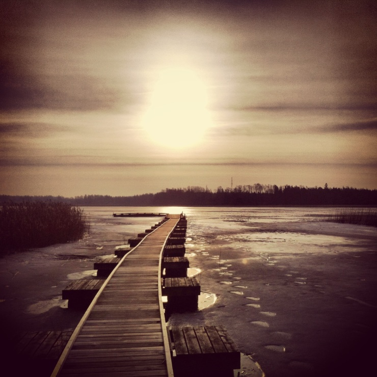 Bryggans väg till solen