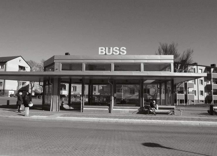 Hållplats - Buss