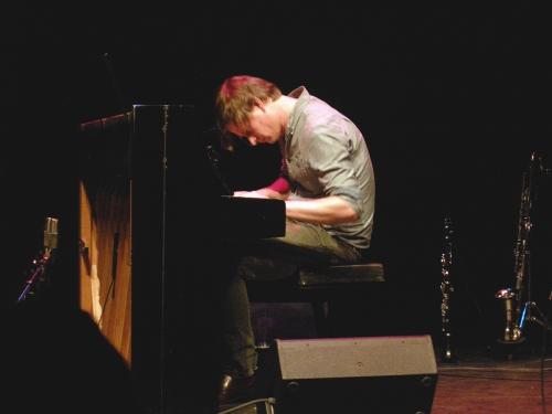 Martin Hederos på Scalateatern 2014