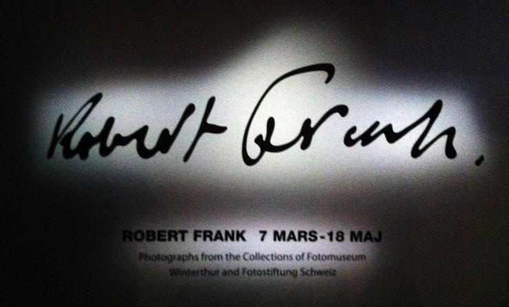 Robert Frank på Fotografiska Muséet 2014