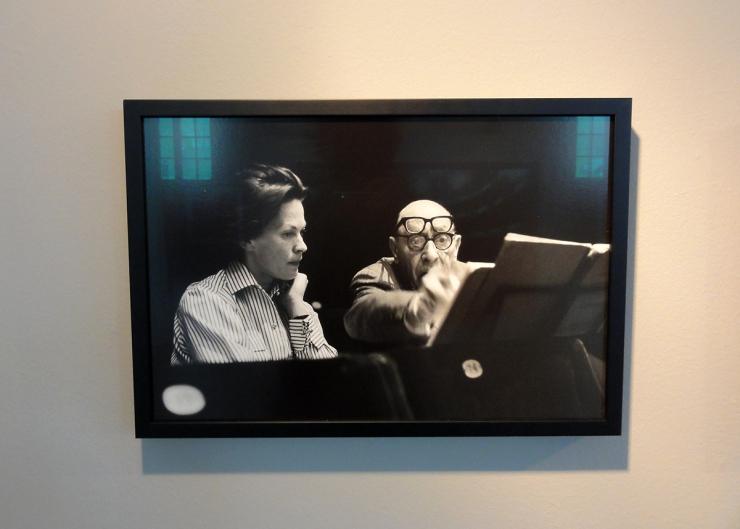 Foto: Lennart Nilsson - Käbi Laretei and Igor Stravinskij