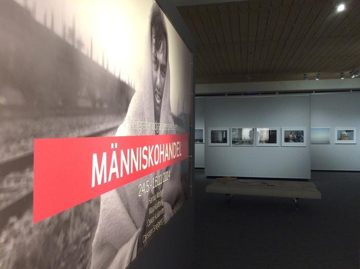 Fotoutställningen Människohandel på Värmlands Museum