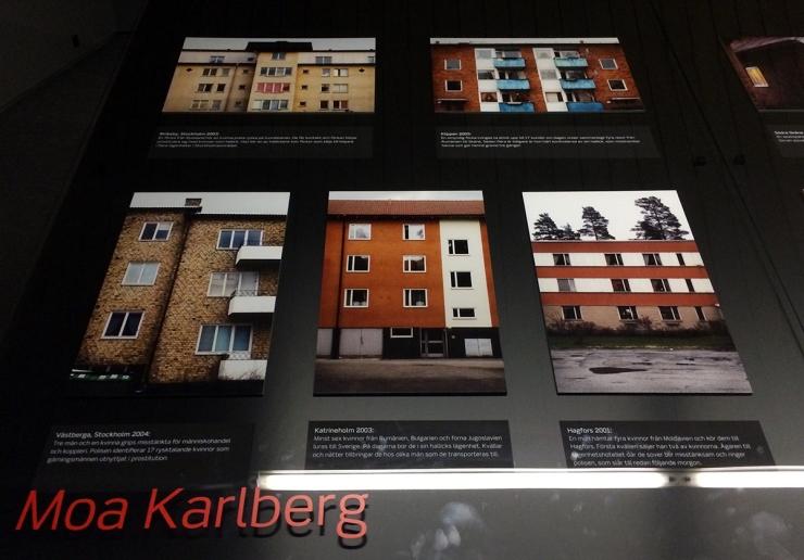 Moa Karlberg - Människohandel