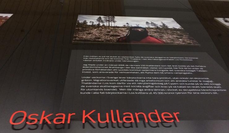 Oskar Kullander - Människohandel