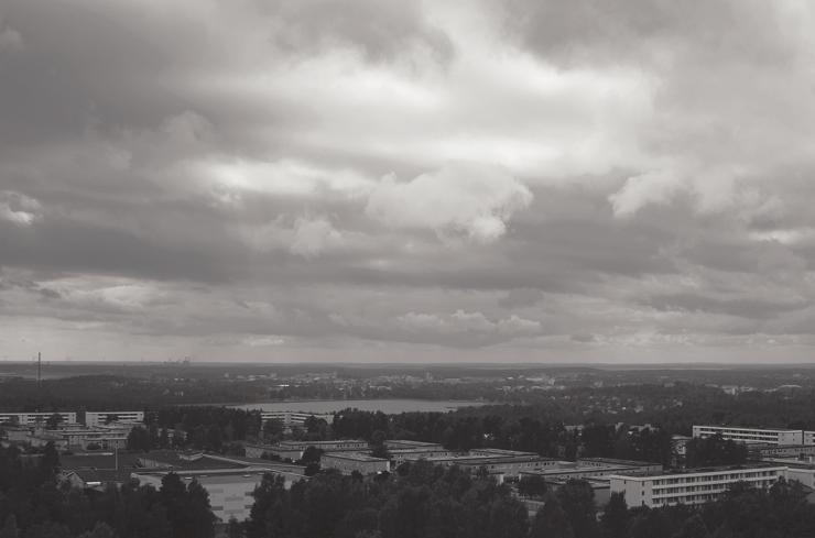 På toppen av Karlstad - Vattentornet på Kronoparken