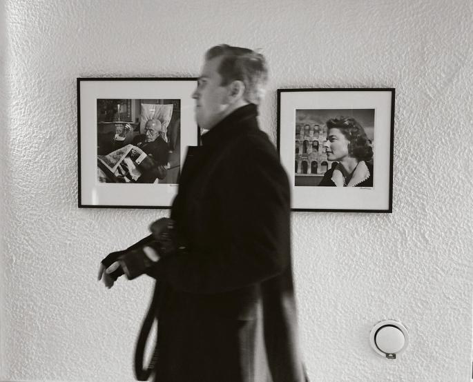Fotografier av Lennart Nilsson - Gustav V och Ingrid Bergman