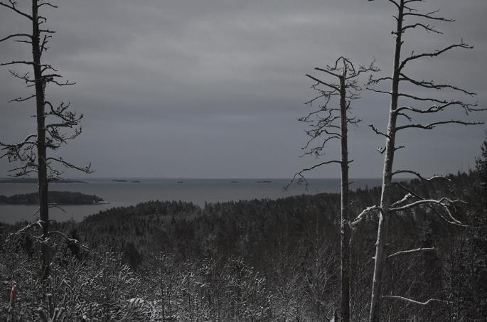 Kycklingleden - Utsikt över Vänern