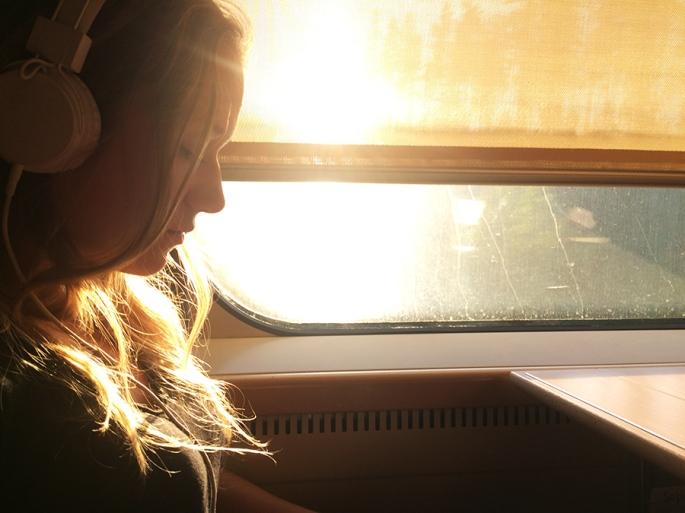 På resa genom solen