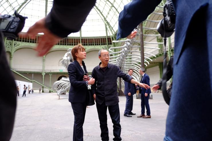 Huang Yong Ping, Monumenta 2016, Grand Palais, Paris