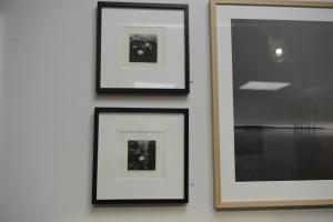 Min verk på utställningen - Fotogravyr och analogt foto